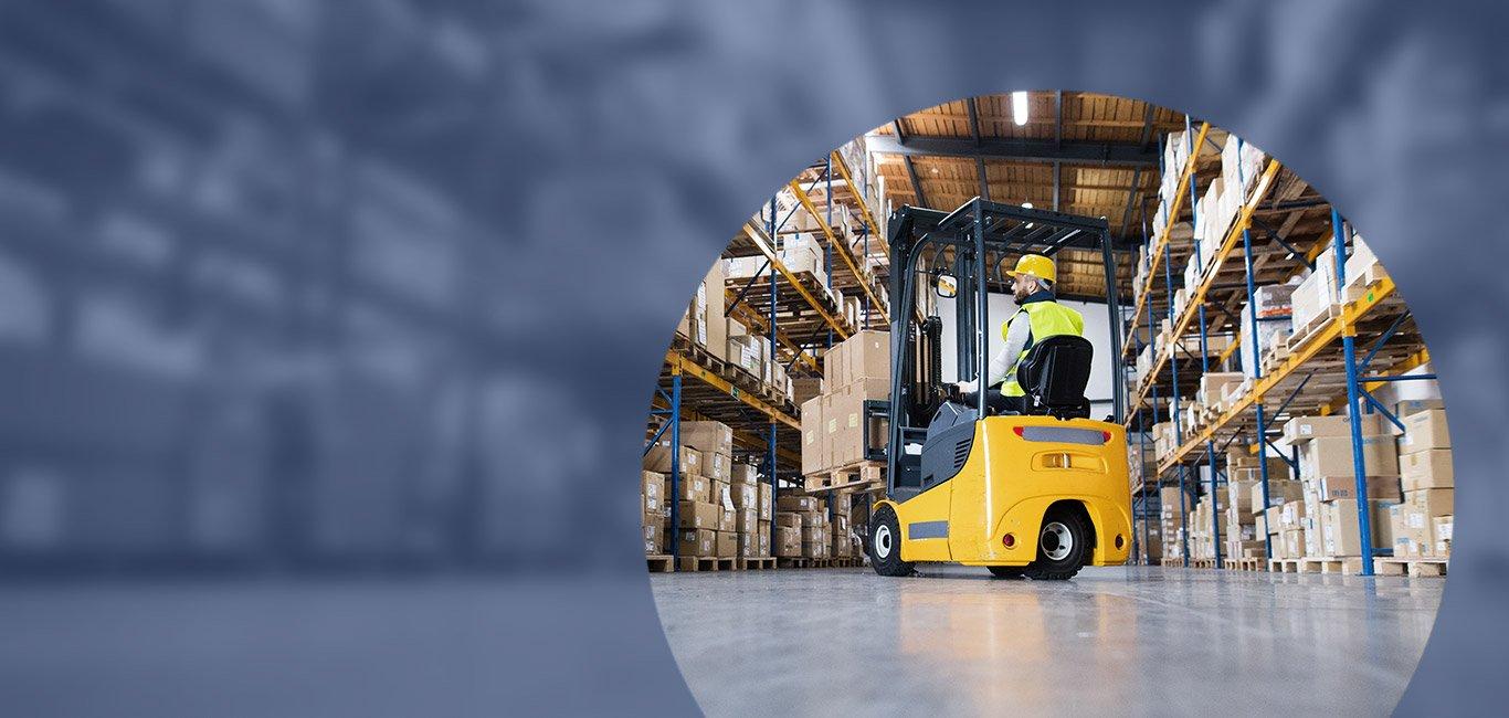 Logistica, stoccaggio e movimentazione merci
