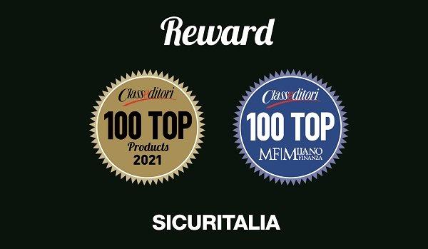 sicuritalia riceve premio class editori 2021